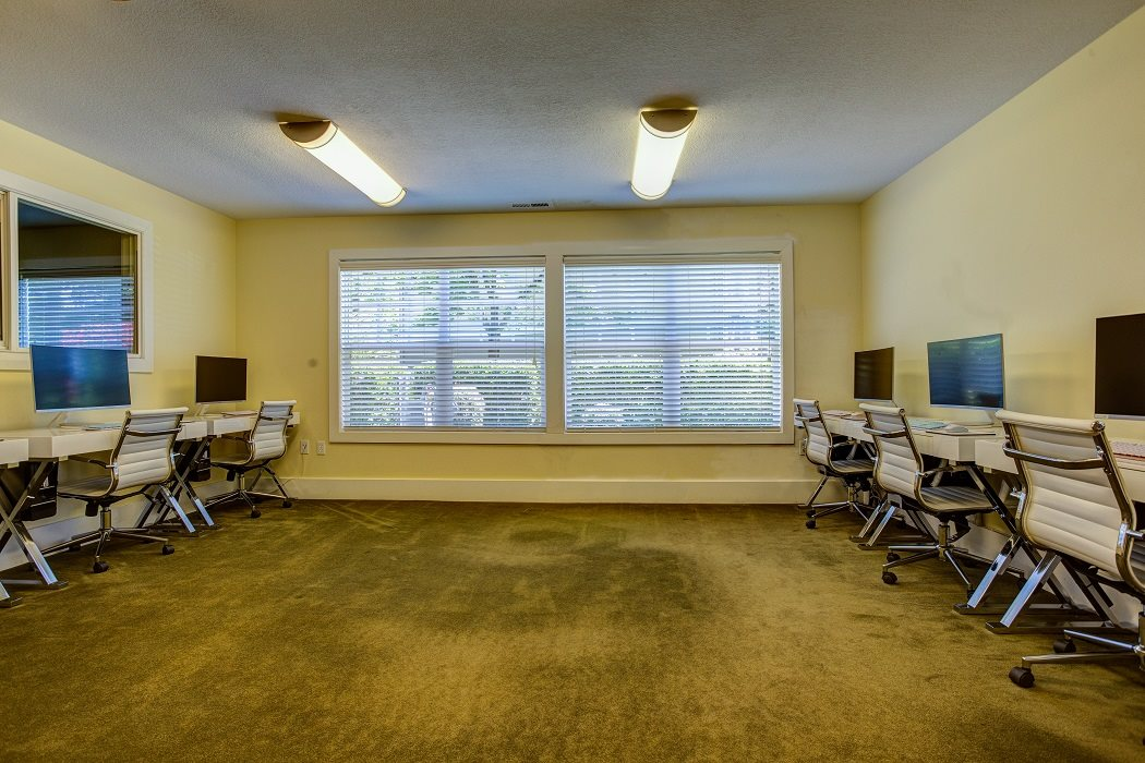 Business Center with High Speed Internet, at Commons at Timber Creek Apartments, Portland, 97229