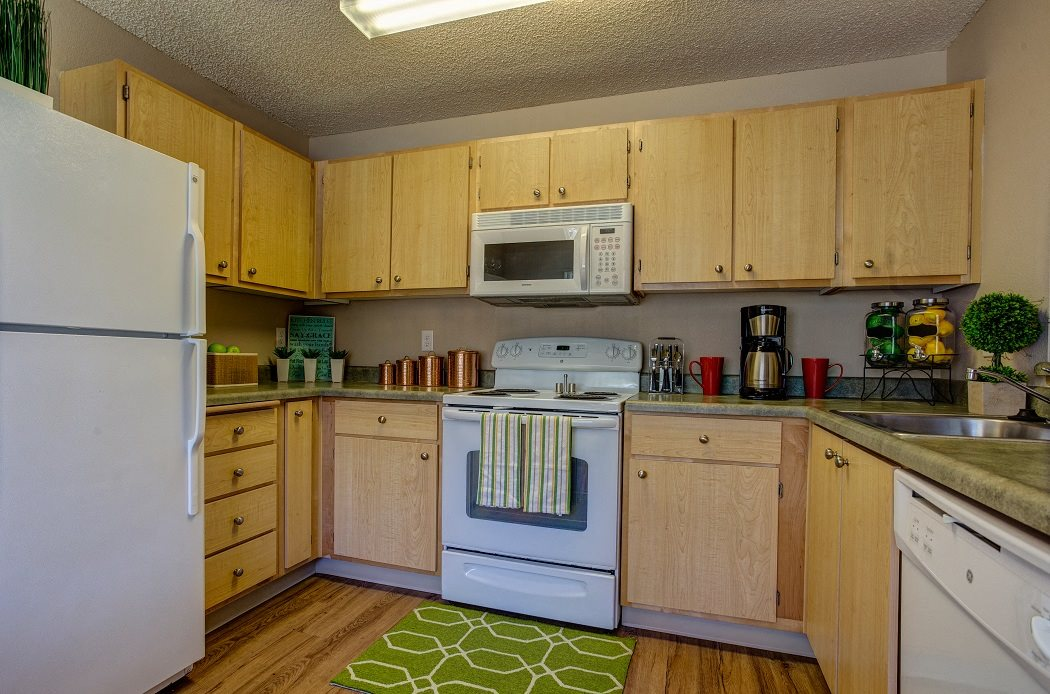 Over-the-Range Microwaves , at Commons at Timber Creek Apartments, Oregon, 97229