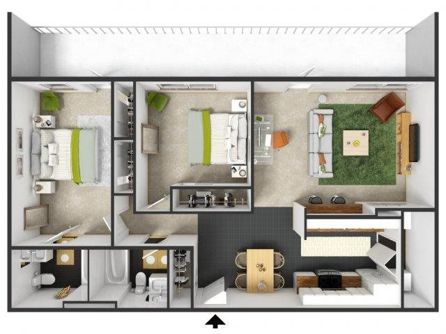 Piedmont Floor Plan 11