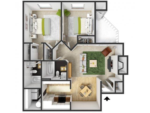 Multnomah Floor Plan 3