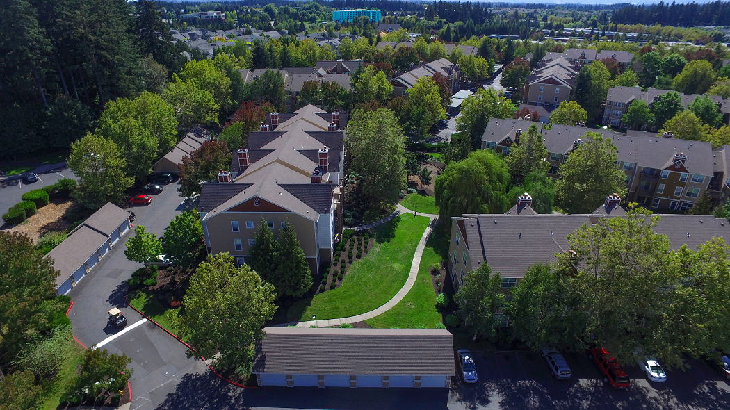 Commons at Verandas Apartments in Hillsboro Oregon