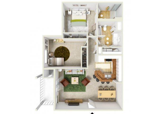 Corsica Floor Plan 5
