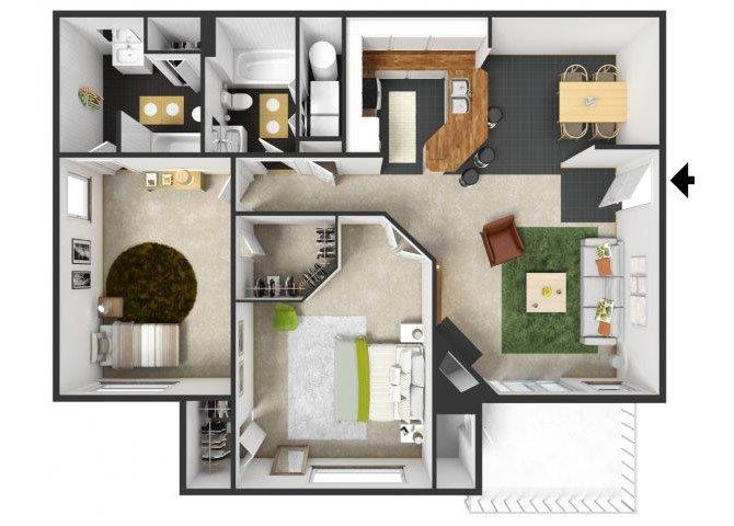 Provence Floor Plan 6