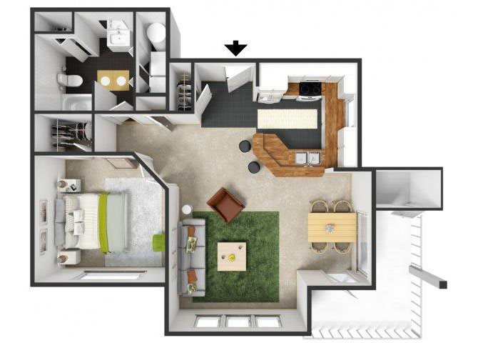 Tuscany Floor Plan 1