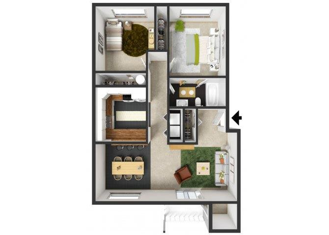 Belmont Floor Plan 3