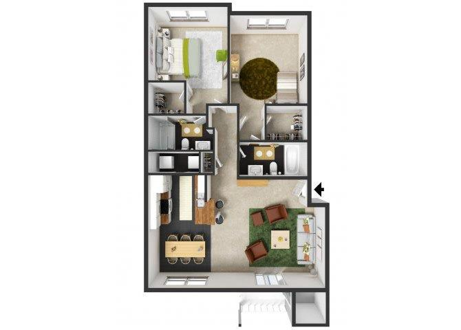 Berkeley Floor Plan 6