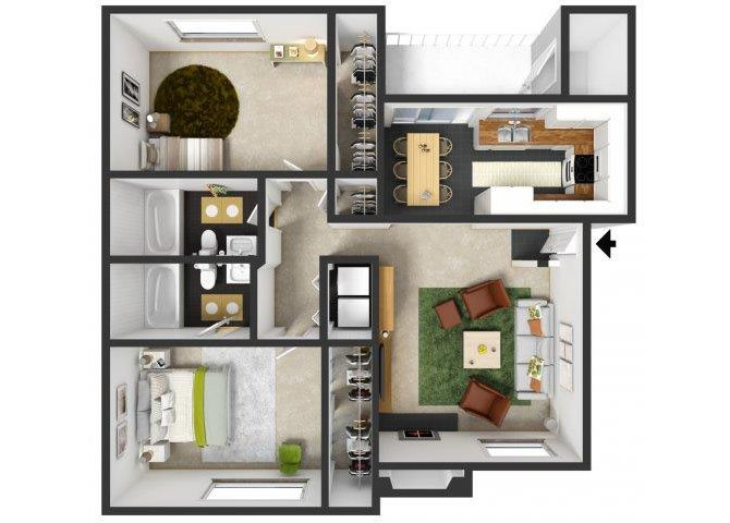 Menlo Floor Plan 5