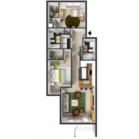 Soho Floor Plan 4