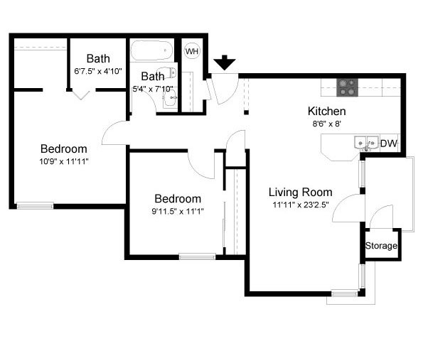 Cascadia Floor Plan 4