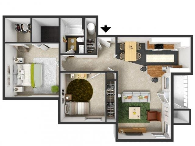 Alsea Floor Plan 3