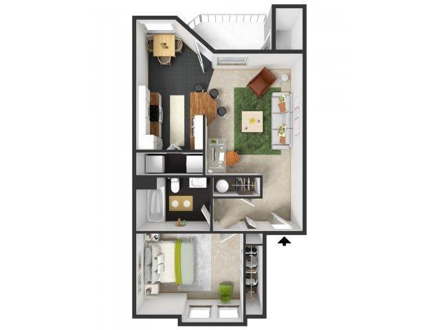 Coquille Floor Plan 1