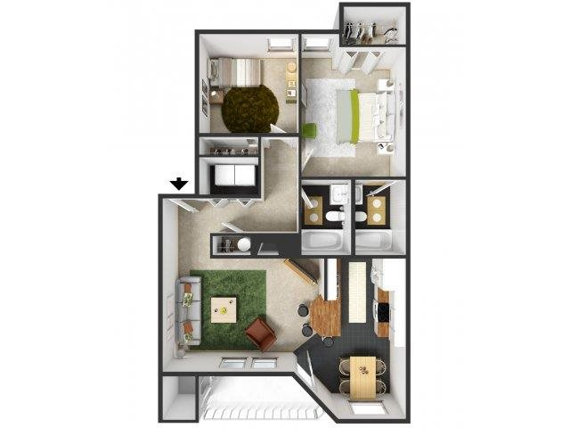 Deschutes Floor Plan 5