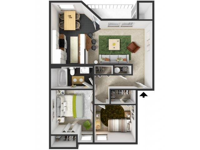 Maple Floor Plan 2