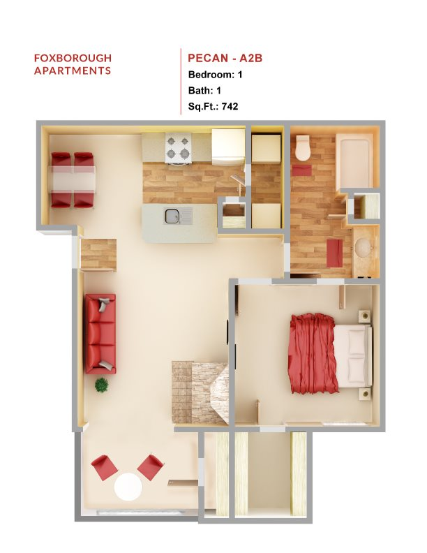 Pecan - A2B Floor Plan 3