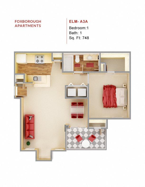 Elm - A3A Floor Plan 4