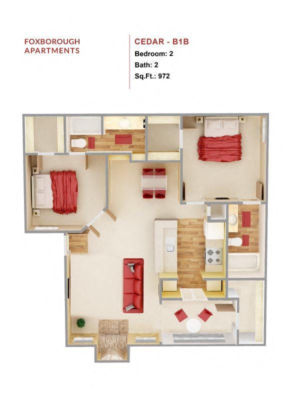 Cedar  B1B Floor Plan 7