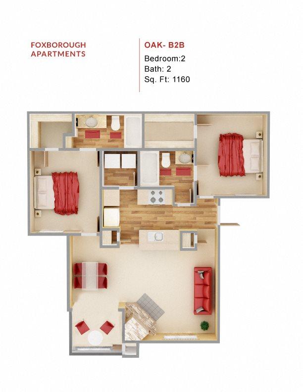 Oak - B2B Floor Plan 9