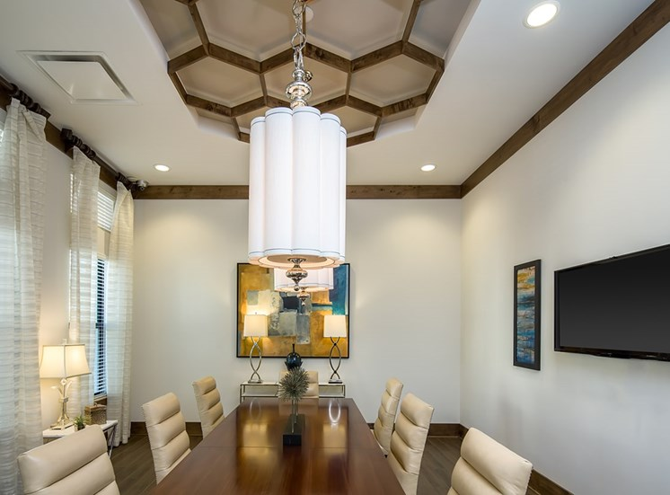 2940 Solano at Monterra apartments conference room in Cooper City, Florida