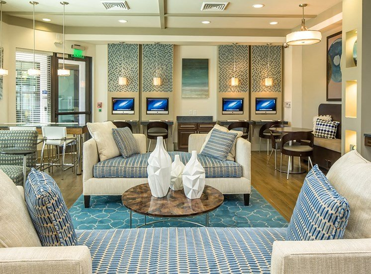 2940 Solano at Monterra apartments cyber cafe in Cooper City, Florida