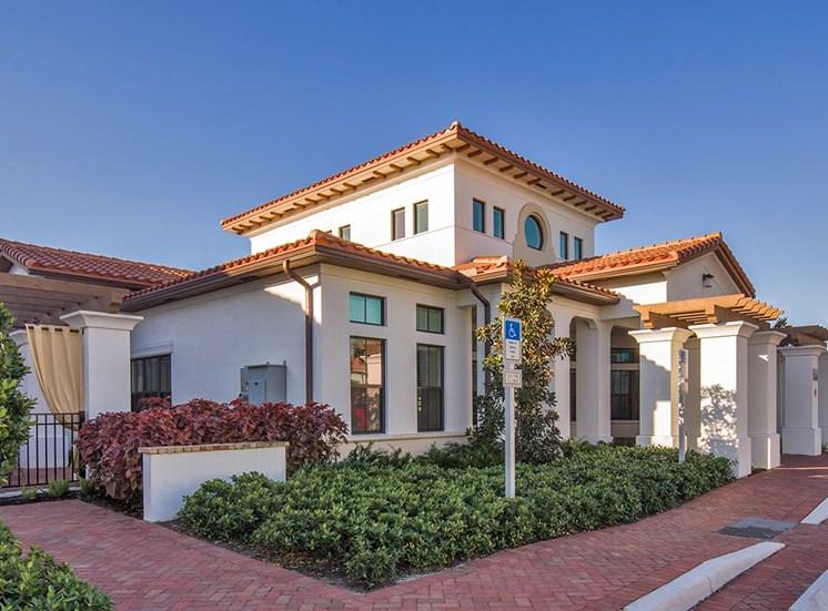 2940 Solano at Monterra apartments leasing center in Cooper City, Florida