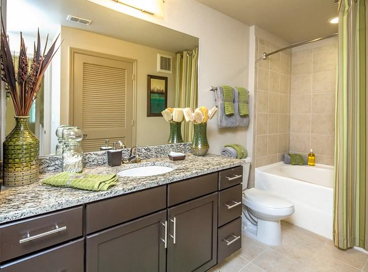 2940 Solano at Monterra model suite bathroom in Cooper City, Florida