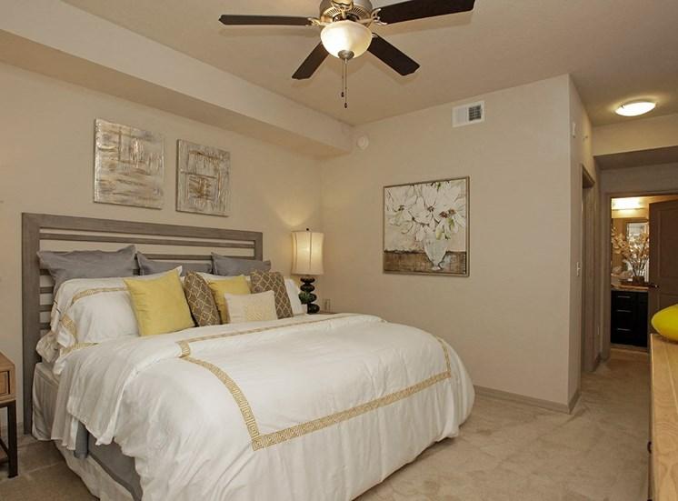 2940 Solano at Monterra model suite bedroom in Cooper City, Florida