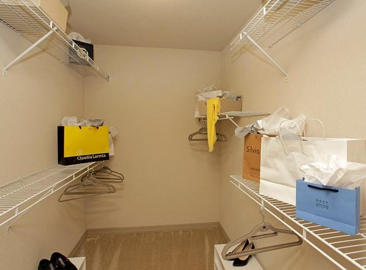 2940 Solano at Monterra model suite closet in Cooper City, Florida