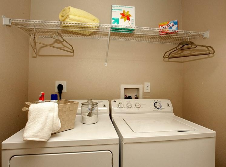 2940 Solano at Monterra model suite utility room in Cooper City, Florida