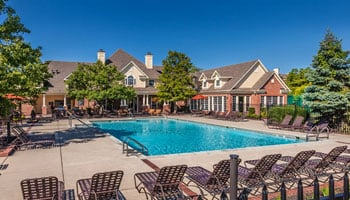 Village on Spring Mill Apartments with outdoor pool