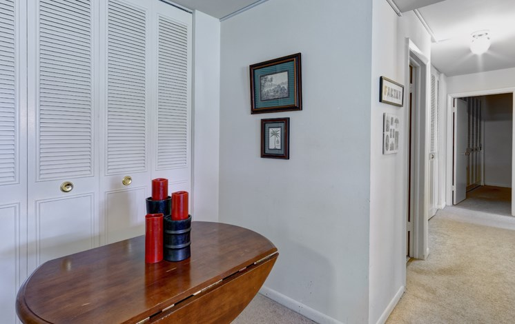 Ample closet space at Harbor Lake Apartments in Waukegan, IL