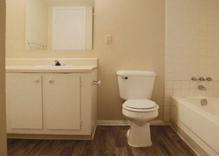 Bathroom at Berkley Apartments in Little Rock, AR
