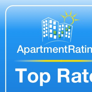 We were a Top Rated Apartment Community in 2015!