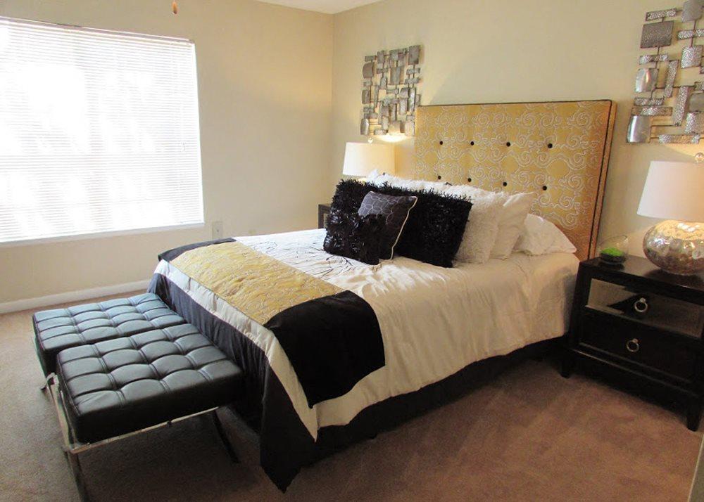 Bedroom in Fairfield Apartments in Little Rock, AR