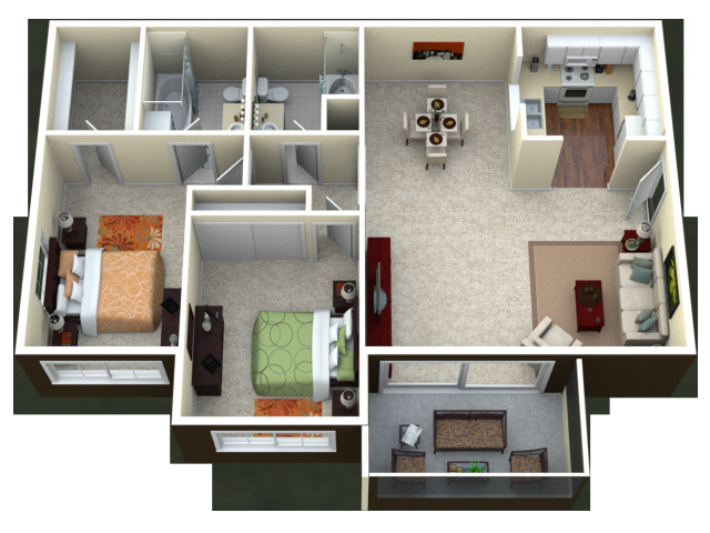 Mariner Floor Plan 1
