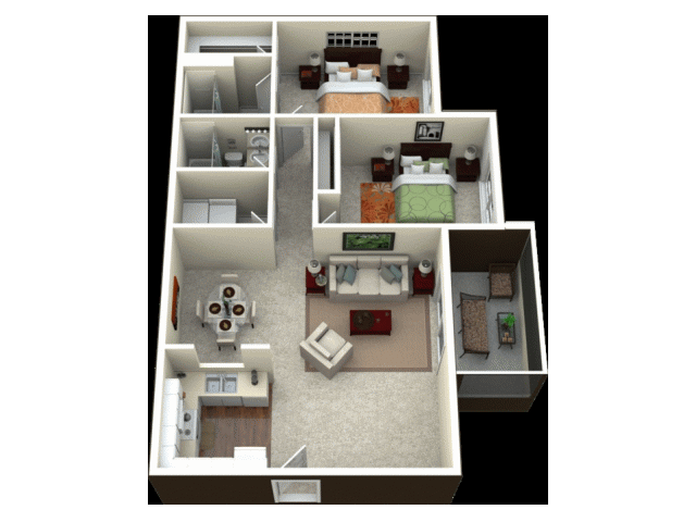 Bermuda Floor Plan 3