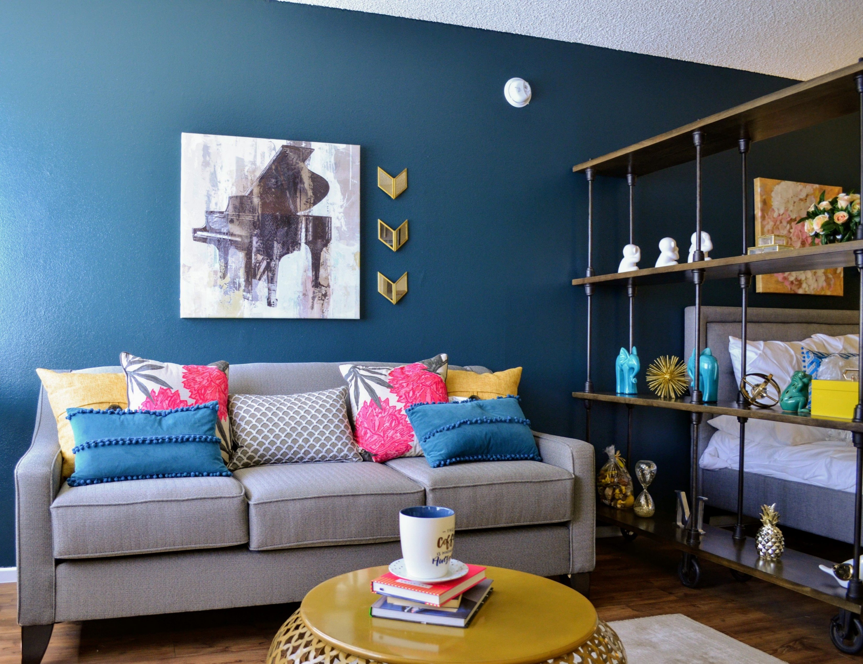 Two-Tone Designer Paint at The Marquee Apartment Homes, 12300-12312 Sherman Way, NoHo
