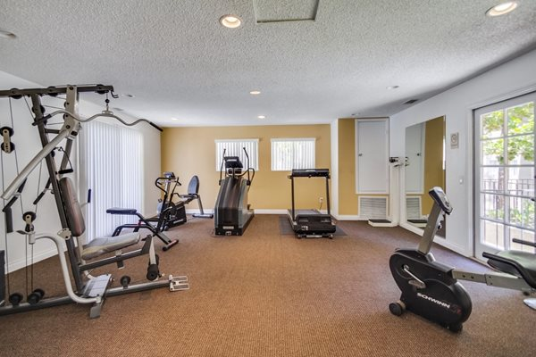 Fitness Center with updated equipment,