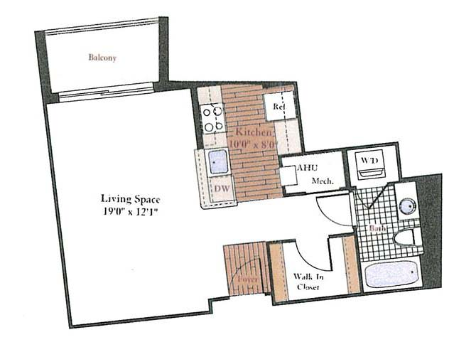 Pre Floor Plans | Floor Plans Of Rosedale Park Apartments In Bethesda Md