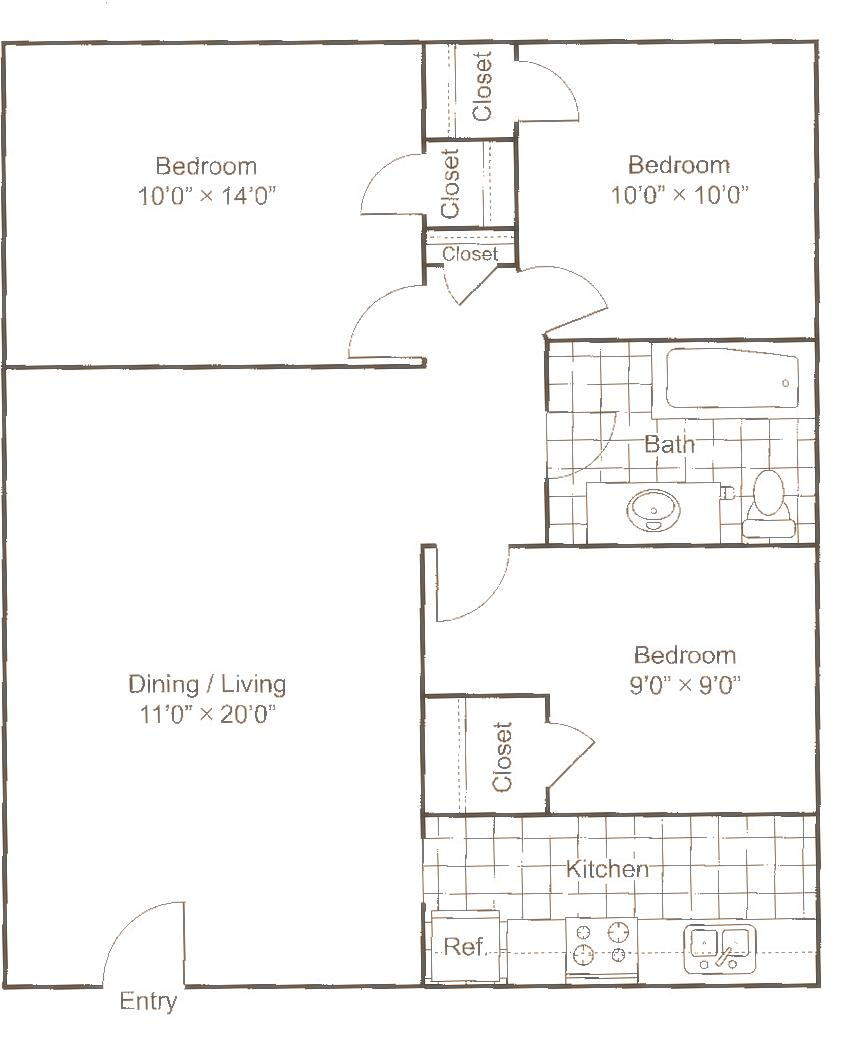Floor Plans Of Garden Villas In Gastonia Nc