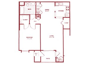 1 Bedroom Lower