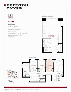 Preston House Apartments, 315 King Street North, Waterloo