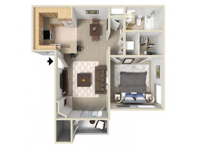 Pine Ridge floor plan.