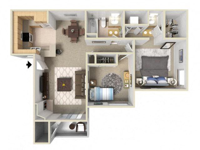 Lake Ridge Floor Plan 2