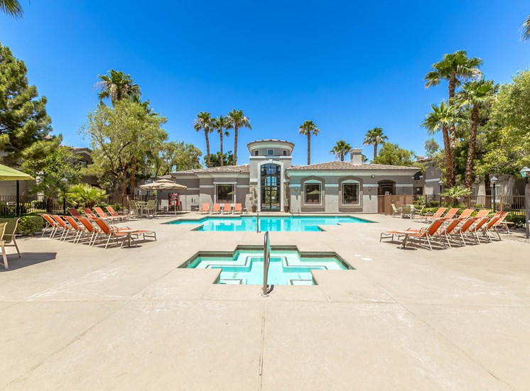 Apartments in Las Vegas, NV | The Clubs at Rhodes Ranch | Spa