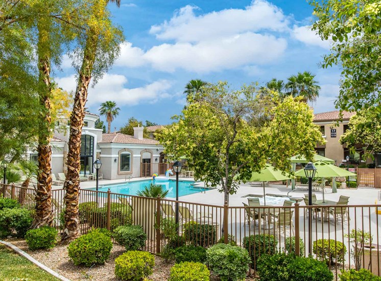Apartments in Las Vegas, NV | The Clubs at Rhodes Ranch | Trees