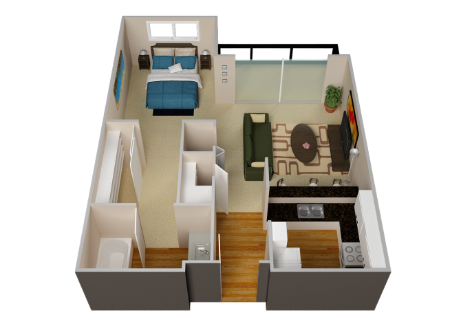 The Spring floor plan