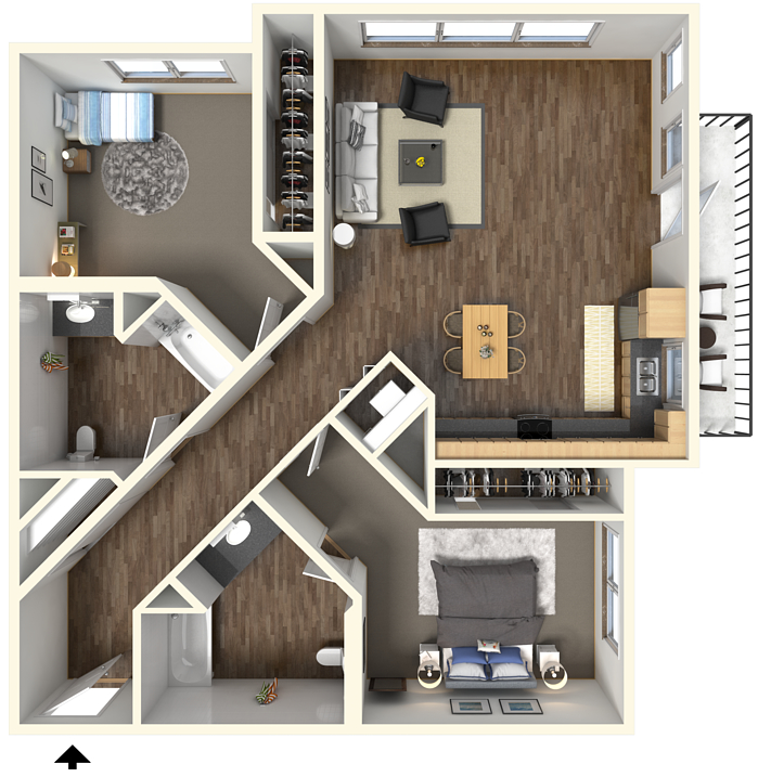 Studio, One, & Two Bedroom Apartments In Sacramento, CA