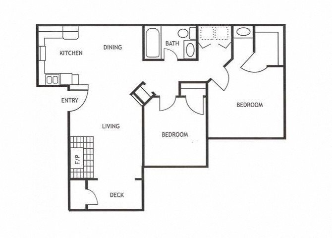 Two Bedroom Apartments in Modesto, CA l Maple Ridge Apartments