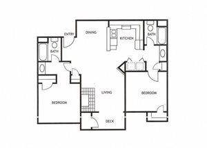 Two Bedroom Apartments in Modesto, CA Apartments l Maple Ridge Apartments