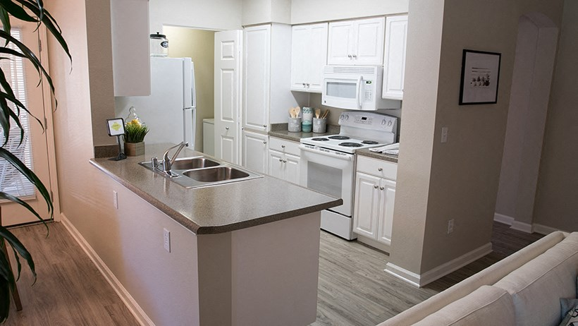 Pet-Friendly Apartments in Elk Grove CA - Lake Point Apartments Kitchen